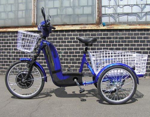 Электровелосипед Трицикл HAPPY 350W характеристик, цена и рекомендации